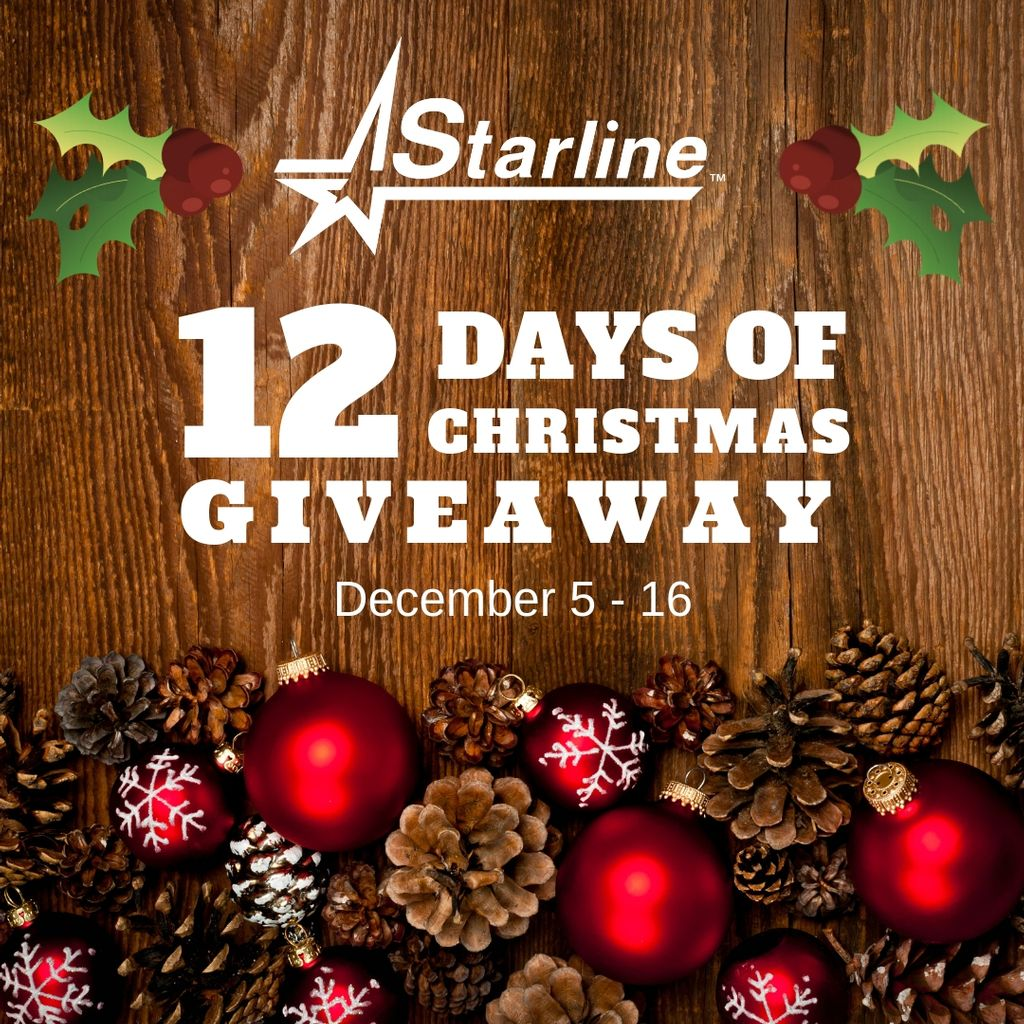 12 Days of Christmas Starline Brass Giveaway