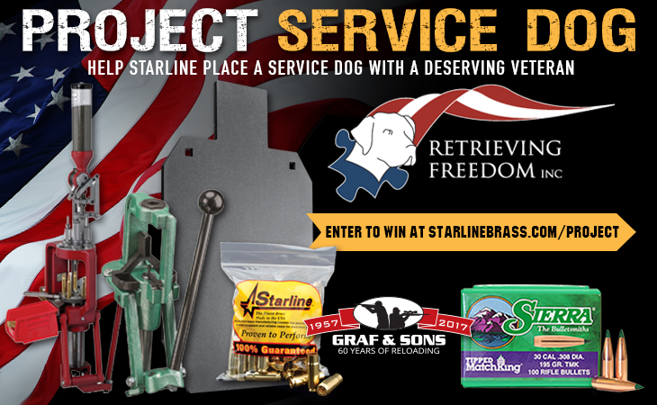 Project Service Dog Giveaway from Starline Brass