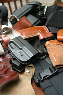 There are hundreds of handgun holster designs to choose from