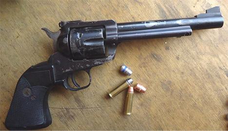 Ruger Blackhawk with .41 Special