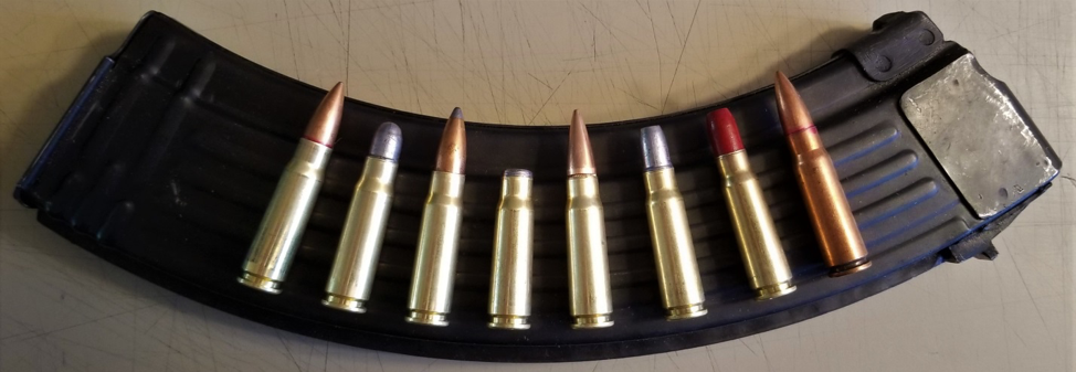 Bullet choices for 7.62x39mm