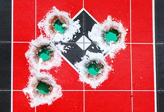Hornady's 6.8 SPC load Grouping