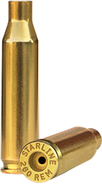 260 Remington Brass